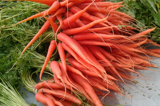 carrots at decatur market