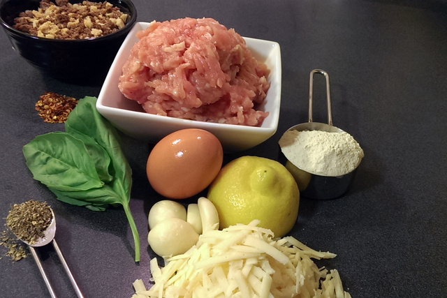 chicken meatball ingredients