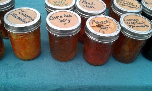 jars of preserves