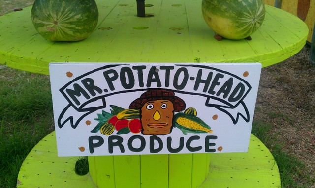 mr. potato head produce
