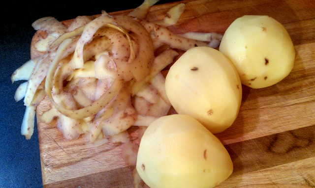 peeled yukon golds