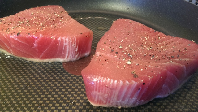 cooking tuna
