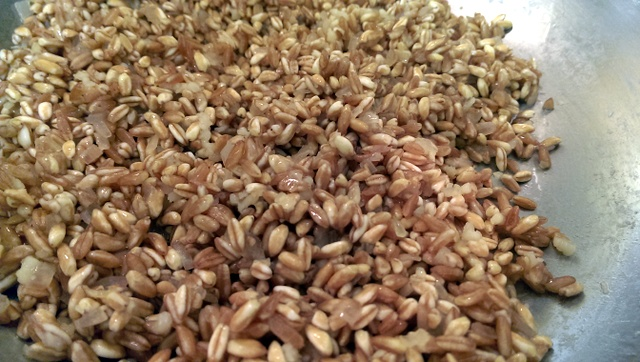 farro ready for wine