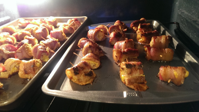 bacon roll ups in oven